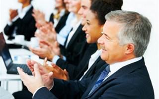 Applaudissements dans réunion