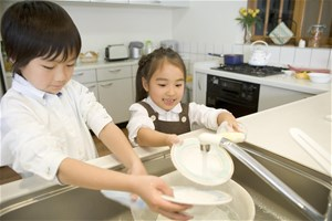 Je fabrique mon liquide vaisselle avec du bicarbonate et du savon noir