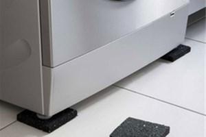Patins anti-bruit sous meubles et lave-linge