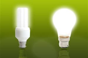 Je vérifie l'étiquette énergie des ampoules