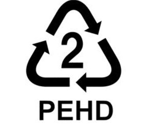 Label Plastique recyclable PEHD