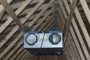 Ventilation VMC double flux